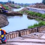 FOTO BANJIR DEMAK : Normalisasi Sungai Jragung Telan Rp700 M