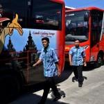 Armada bus rapid transit aglomerasi Trans Jateng berderet di Terminal Bus Bawen, Kabupaten Semarang, Jateng, Jumat (7/7/2017). (JIBI/Solopos/Antara/Aditya Pradana Putra)