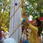 HARI ANAK NASIONAL : Ratusan Anak Semarang Pasang Harapan di Pohon