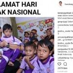 HARI ANAK NASIONAL : Wali Kota Semarang Serukan Setop Bullying terhadap Anak