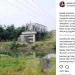 INFRASTRUKTUR JATENG : Dilapori Warganet soal Jembatan Mangkrak, Ganjar Cek Langsung ke Lapangan