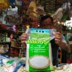 Beras Maknyuss di Pasar Besar Kota Madiun Tetap Laku