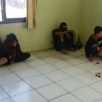 RAZIA MADIUN : 7 Anak Jalanan di Taman Kelun Dihukum Menyanyi Indonesia Raya