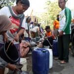 KEKERINGAN SRAGEN : 378 Keluarga Kowang Kesulitan Air Bersih, BPBD Kirim 3 Tangki