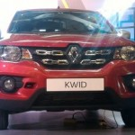 Penampilan Renault Kwid di GIIAS 2017. (JIBI/Antara)