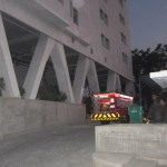 KEBAKARAN SUKOHARJO : Instalasi Listrik Menara Santosa Kartasura Terbakar