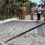 INFRASTRUKTUR SRAGEN : Bupati Perintahkan Putus Kontrak Pelaksana Proyek Jalan Kedawung-Jambangan