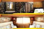 Mewahnya Gerbong KA Pariwisata Khusus Pelancong