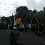 LIMA HARI SEKOLAH : Ratusan Santri Demo Tolak FullDaySchool