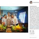 INSTAGRAM ARTIS : Maia Estianty Gandeng Orang Spesial di Perayaan Ultah Dul