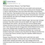 TRENDING SOSMED : Insiden Bendera Indonesia Terbalik, Gadis 15 Tahun Surati PM Malaysia
