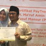 Bisnis Paytren Yusuf Mansyur Dapat Sertifikat Syariah dari MUI