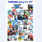 JATENG FAIR 2017 : Simak, Berikut Jadwal Artis dan Band di PRPP