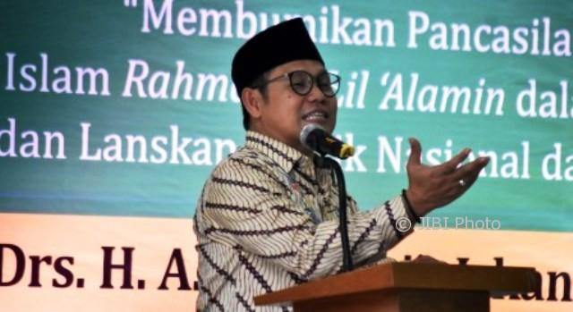 FOTO KAMPUS DI SEMARANG : Muhaimin Iskandar Kuliahi Akademisi Undip