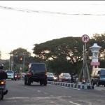 LALU LINTAS SEMARANG : Dari Jl. dr. Wahidin ke Jl. Sultan Agung Dilarang Belok, Pengguna Jalan Mengeluh