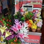 INFRASTRUKTUR SEMARANG : Duh, Timbangan Milik Pemkot di Pasar Sampangan Jadi Lapak Bunga