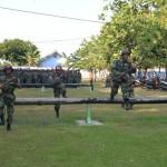 500 Caprasis TNI AU Latihan Tempur di Lapangan Lanud Adi Soemarmo