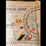 SEA GAMES 2017 : Koran Malaysia Juga Pasang Bendera Indonesia Terbalik, Sengaja?