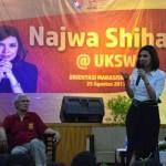 KAMPUS DI SALATIGA : Begini Pesan Najwa Shihab ke Maba UKSW