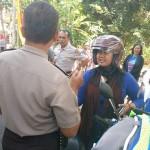 Polisi Klaten Halau Ratusan Pengendara Hendak Ikuti Aksi Bela Rohingnya