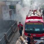 KEBAKARAN SUKOHARJO : Tumpukan Sampah di Daleman Terbakar, Warga Panik