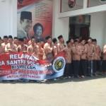 PILGUB JATENG : Ratusan Pendukung Sambut Wardoyo Wijaya di Kantor PDIP Jateng