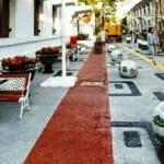 INFRASTUKTUR SEMARANG : Trotoar Kota Lama Dipercantik, Warganet Belum Puas