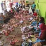 IDULADHA 2017 : Tim Disnakkan Karanganyar Temukan Hati Sapi Bercacing di Masjid Agung