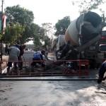 INFRASTRUKTUR SRAGEN : Sempat Masuk Kontrak Kritis, Rekanan Proyek Jalan Kedawung-Jambangan Lolos Penalti
