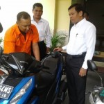 PENCURIAN SOLO : Pencuri Motor Tertangkap setelah Terlibat Kejar-Kejaran dengan Korbannya