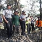 Antisipasi Kebakaran, Polres Sragen-Polhut BKSDA Patroli di Hutan Suaka Margasatwa