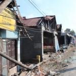 KECELAKAAN KLATEN : Penyandang Tunanetra Tewas Terjepit Ban Truk Gandeng yang Menabrak Rumahnya