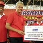 Bank Jateng Bantu Ambulans PMI Pati