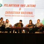 IWO Jateng Dikukuhkan, Wartawan Online Siap Tepis Hoax