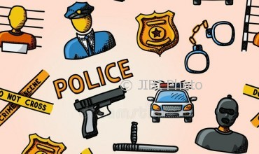 Ilustrasi kepolisian. (dreamstime.com/royalty-free vector)-