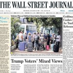 Koran Wall Street Journal Edisi Eropa & Asia Berhenti Cetak