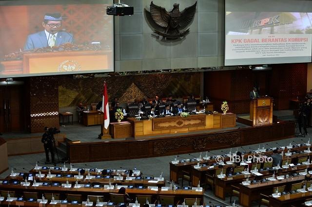 MK Putuskan KPK Bisa Jadi Sasaran Hak Angket DPR