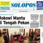 Halaman Depan Harian Umum Solopos edisi Senin, 18 September 2017.