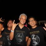 JOGJAROCKARTA : Ganjar Pranowo Bermetal Ria di Kridosono