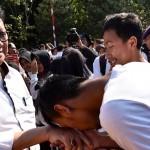 KAMPUS DI SEMARANG : Mendagri Lepas 6.500 Mahasiswa Unnes Berlatih Bela Negara