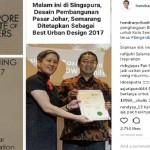 PRESTASI SEMARANG : Desain Pasar Johar Raih SIP Planning Award, Ini Komentar Hendi