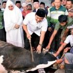 IDULADHA 2017 : Foto Wali Kota Semarang Berkurban Beredar, Begini Reaksi Warganet...