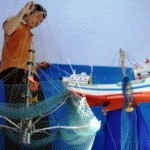 FOTO PERIKANAN JATENG : Jaring Kelelawar Inovasi Warga Batang