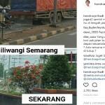 INFRASTRUKTUR SEMARANG : Jl. Siliwangi Penuh Bunga, Ini Pesan Hendi ke Pengguna Jalan