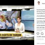 INFRASTRUKTUR SEMARANG : Kampung Pelangi Masuk TV Jepang, Hendi Pamer
