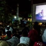 Foto Film G30S Diputar di Kota Lama
