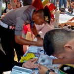 FOTO AKSI POLISI : Dokter Siswa SIPSS Bakti Sosial