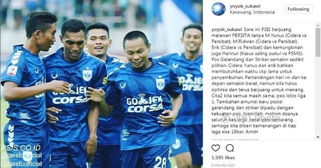 LIGA 2 : Cedera, 2 Pemain Andalan PSIS Semarang Dipastikan Lama Menepi