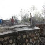 INFRASTRUKTUR WONOGIRI : Belum Rampung Direhab, Jembatan Pracimantoro Malah Ambles