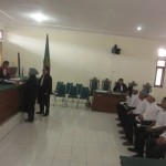 MAHASISWA UII MENINGGAL : 6 Tersangka Penganiayaan Diksar Jalani Sidang Dakwaan